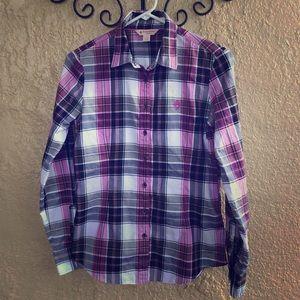 Brooks Brothers Red Fleece Women Button Down Shirt